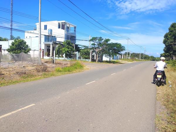 hình ảnh thực tế đoạn đường tỉnh lộ 328 (tl328) gần bbq Hồ Tràm
