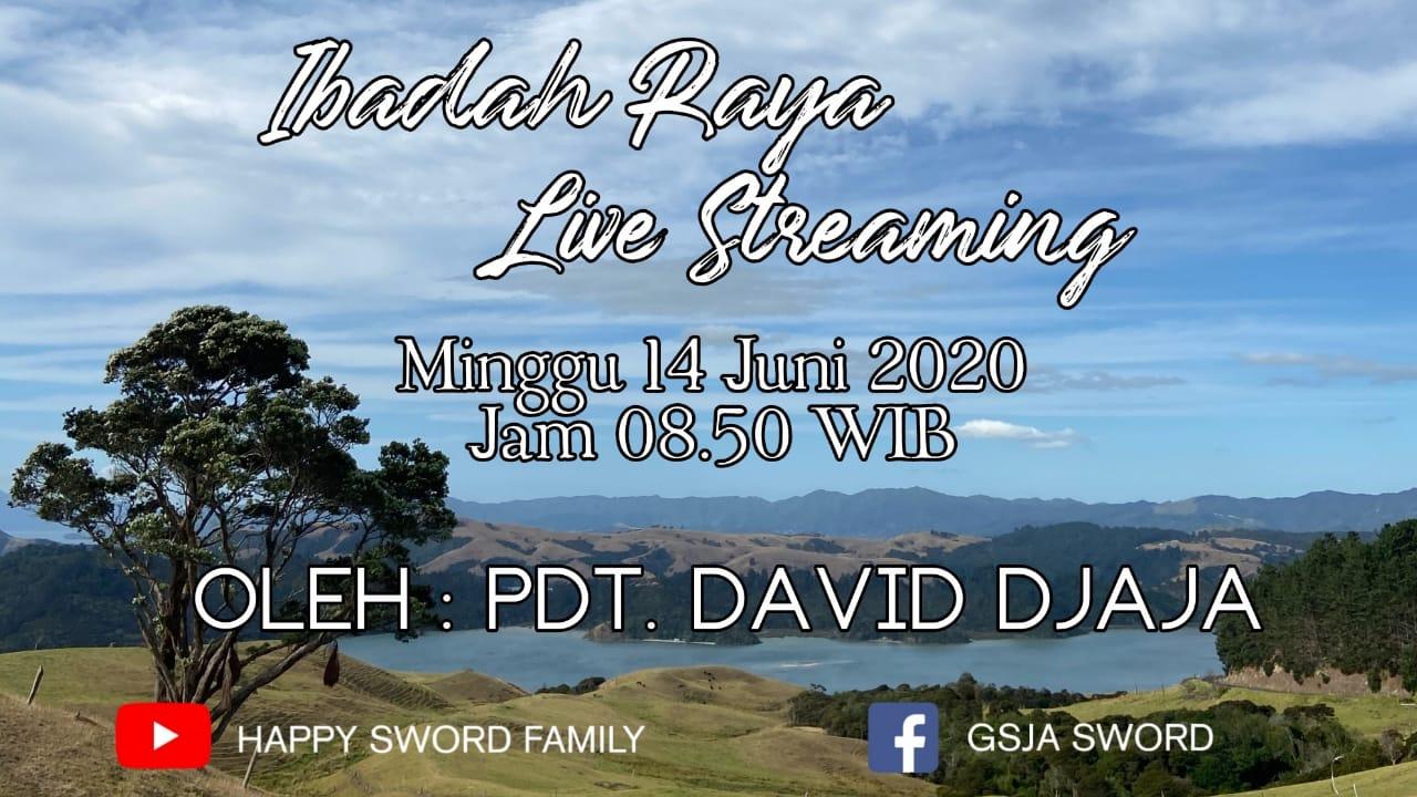 Ibadah live steaming gsja sword