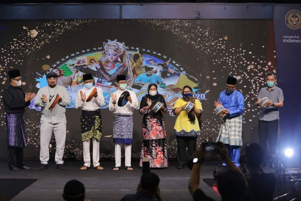 Wakil Walikota Membuka Kenduri Seni Melayu 2020