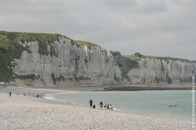 Playa Fécamp viaje Normandia Bretaña turismo que ver destinos