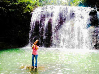 "alt=""pesona air terjun curug cai desa bukitbengkulu tengah"""