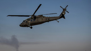 Helikopter Rezim Syiah Nushairiyah Kembali Ditembak Jatuh, Dua Pilot Tewas