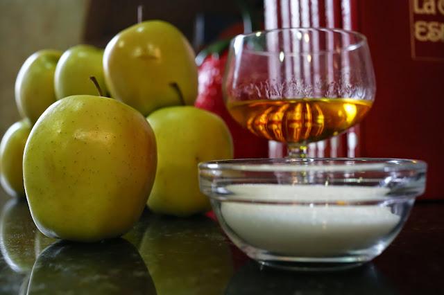 Ingredientes para manzanas al horno