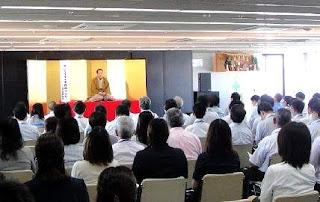 三遊亭楽春講演会「落語で学ぶメンタルケア、笑いでイキイキ職場づくり」