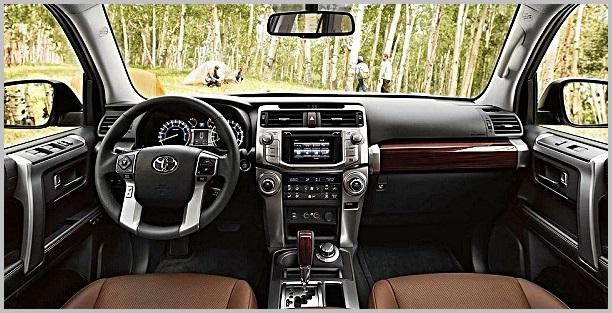 2017 Toyota 4runner Inside