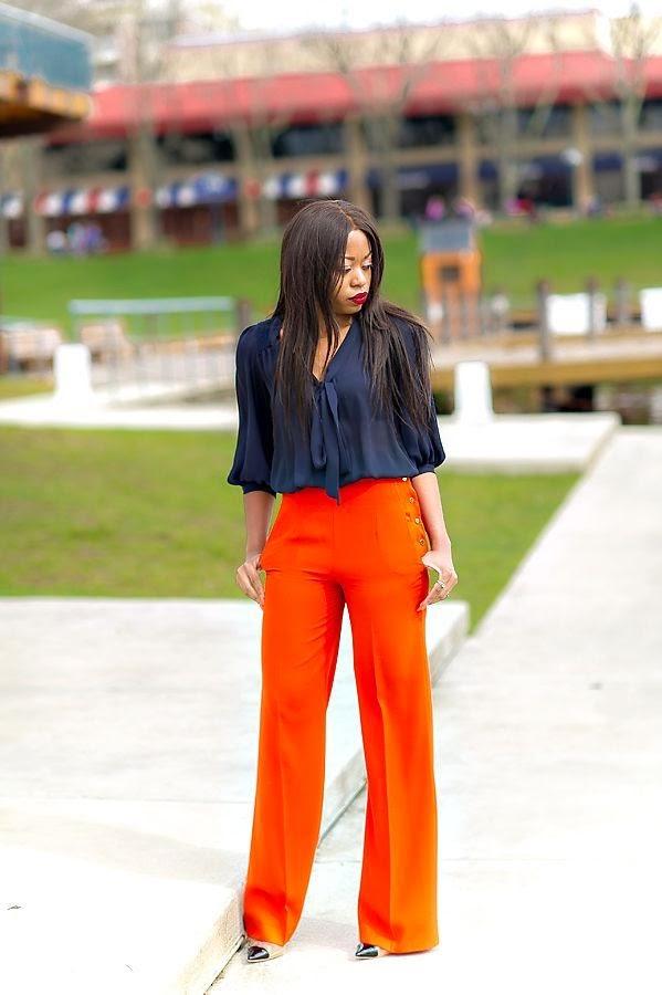 High-waist-pants
