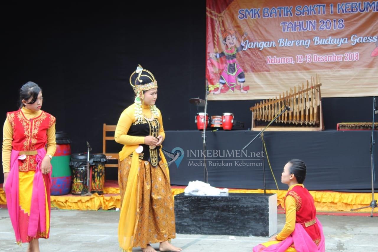 Pagelaran Seni Budaya SMK Basasa Kebumen Suguhkan Kreasi Seni Siswa