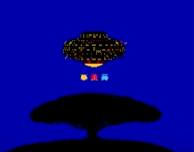 Dr. Mario Viruses UFO cutscene abduction tree