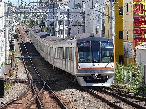 【まさかの日中代走】東京メトロ10000系フルカラーLEDの急行 武蔵小杉行き