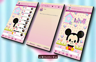 Mickey Love Theme For YOWhatsApp & Fouad WhatsApp By Nanda