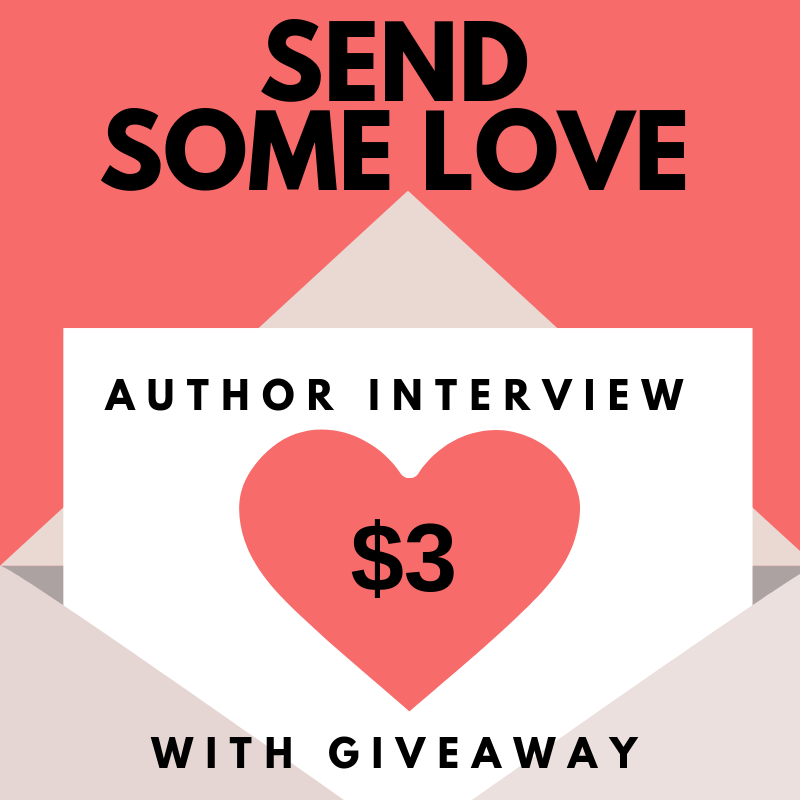 $3 Author Interview & Charm Giveaway Promo