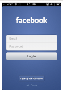Facebook Login Home Page Not Mobile