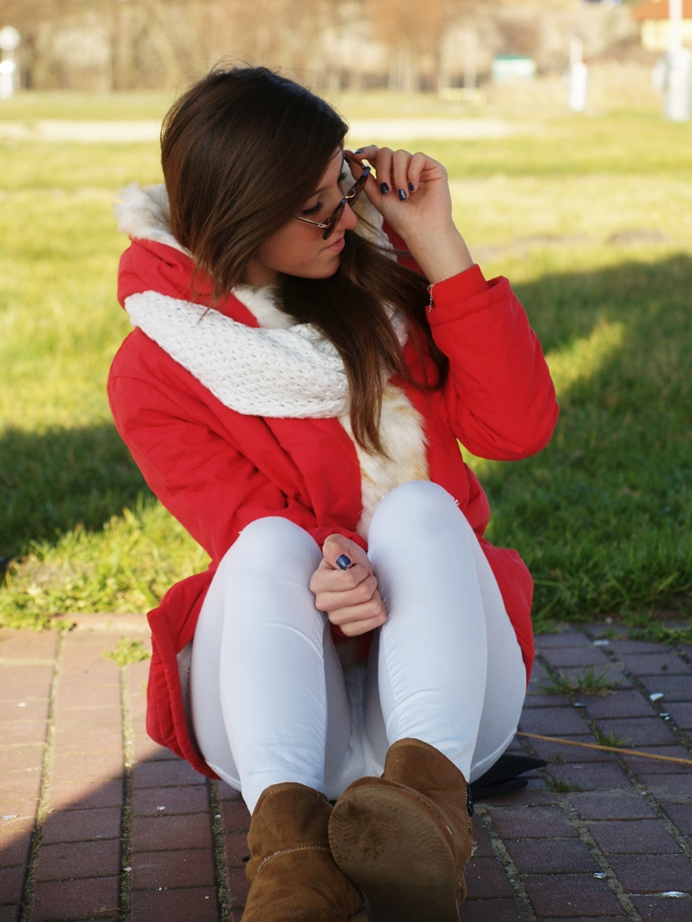 RED PARKA JACKET | GAMISS