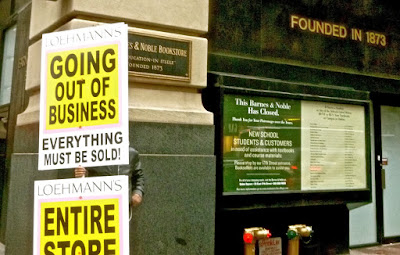 Closed Barnes & Noble