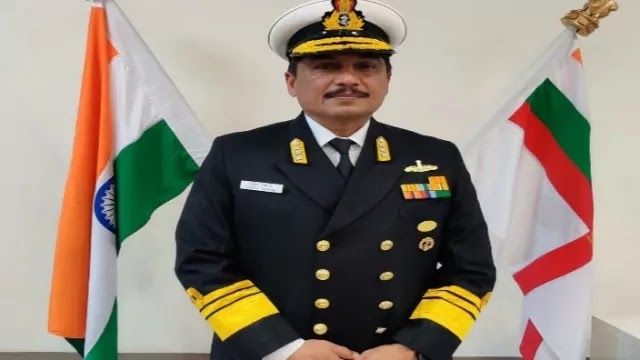 Vice Admiral Sandeep Naithani assumes charge as the Controller Warship Production and Acquisition
