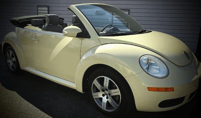 Hot on the Lot: 2006 Beetle Convertible, Metamora Herald