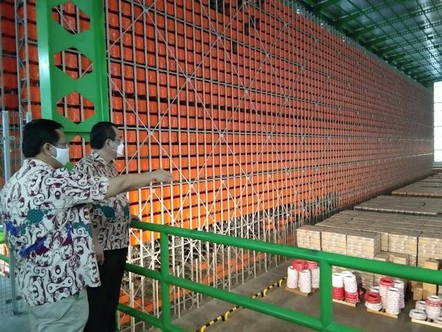 ASRS warehouse MPM Honda Jatim