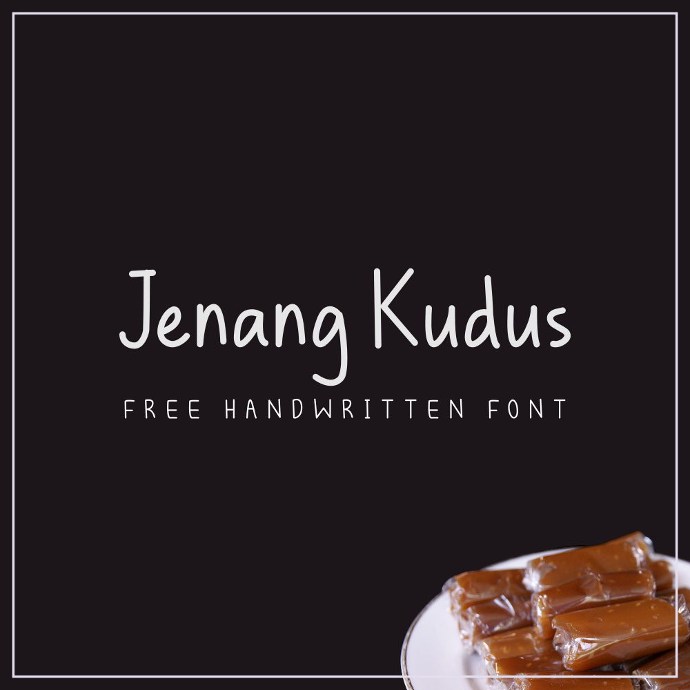 تحميل خط جينانج قودوس اللاتيني الرائع - Jenang Kudus Font