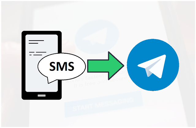 forward sms to telegram