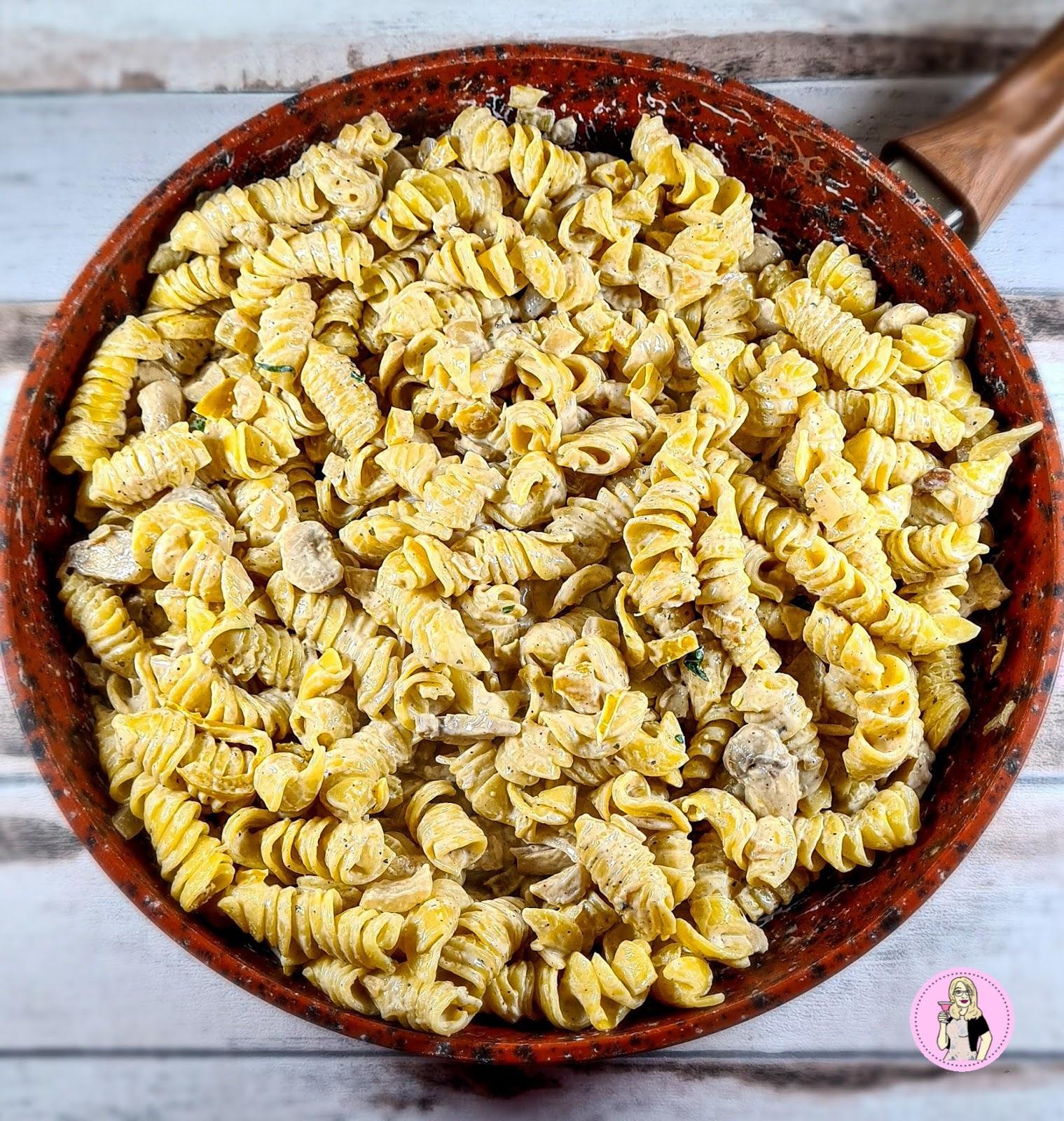 Creamy Mushroom Pasta | Slimming Friendly Recipe