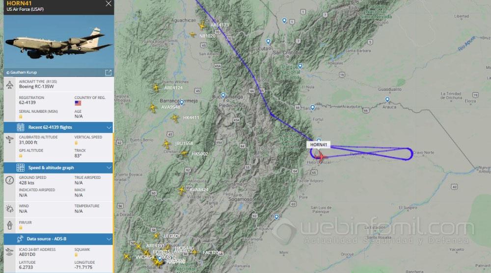 Colombia - Página 21 Rc-135%2Btrac