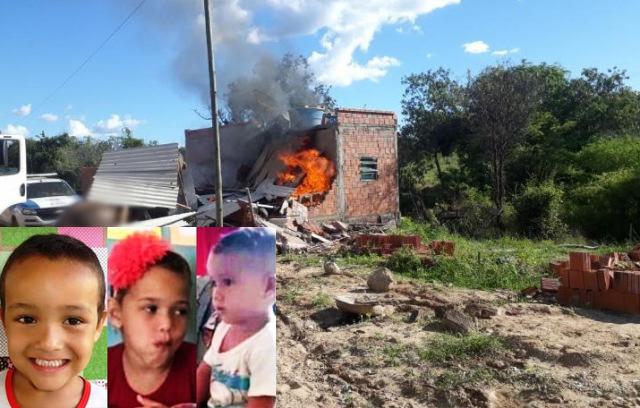 Morre terceira criança vítima de incêndio provocado pelo pai na zona rural de Pindaí