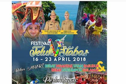 Menapaki Jejak Wisata dan Budaya Pesisir Barat di Festival Teluk Stabas 2018