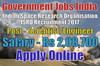 Indian Space Research Organisation ISRO Recruitment 2017 LPSC