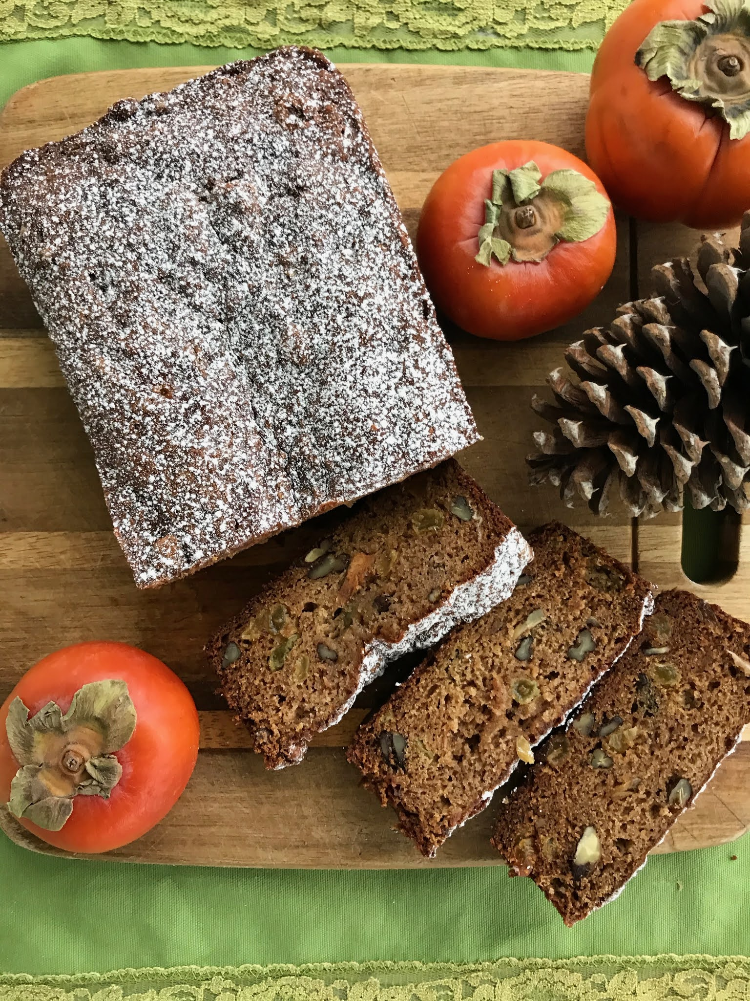 Holiday Persimmon Bread
