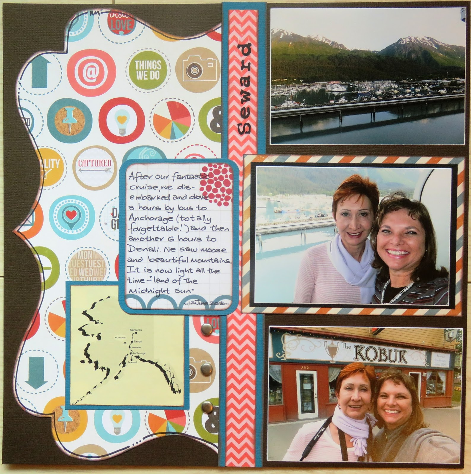 Whispered Comfort Scrapbooking Layouts