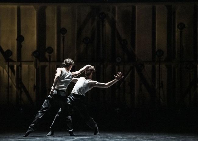 Paris Opera Ballet Alexandre Gasse and Julien Guillemard by Julien Benhamou