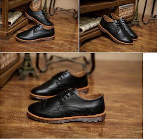 Sepatu Pantofel Pria Korea Model Terbaru Juni 2016