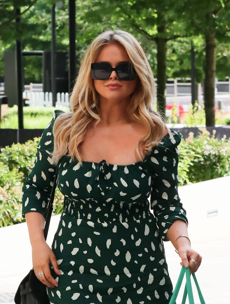 Emily Atack Leaves Sunday Brunch TV Show in London 12 Jul -2020