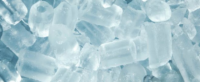 Ice is also helpful for ulcers on tongue