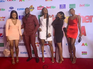 KimOprah, Tuoyo, Ella,Avala, and Isilomo arrives for eviction party