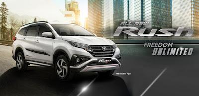 Promo Rush Bandung dp ringan