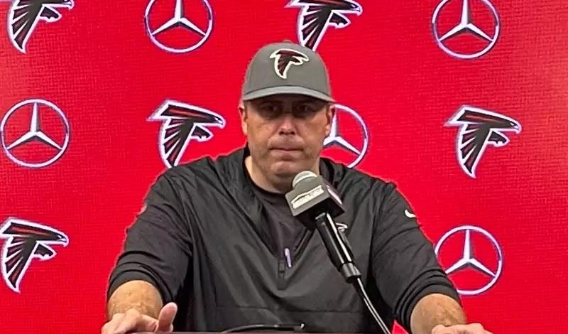Arthur Smith, Atlanta Falcons 2021 season head coach