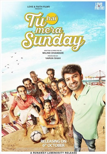 Tu Hai Mera Sunday 2017 Hindi 720p HDRip 900mb