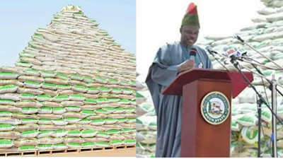 Man Laments As Ogun State Governor Commissions Fake Rice (Photos)