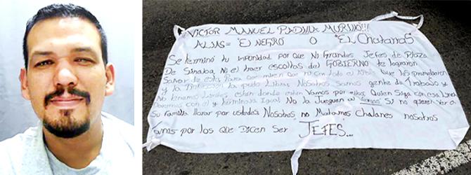 """Escolta de """"El Chatarras"""" operador del Cártel de Sinaloa, fue detenido por traicionarlo y asesinarlo"""