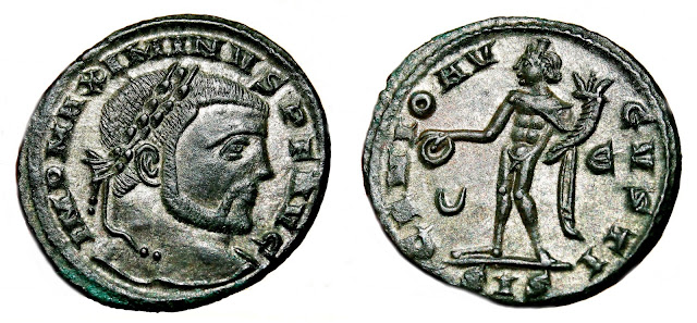 a nombre del Augusto de oriente Maximino II Daya