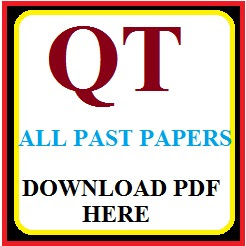 DOWNLOAD QT ALL PAST PAPERS PDF