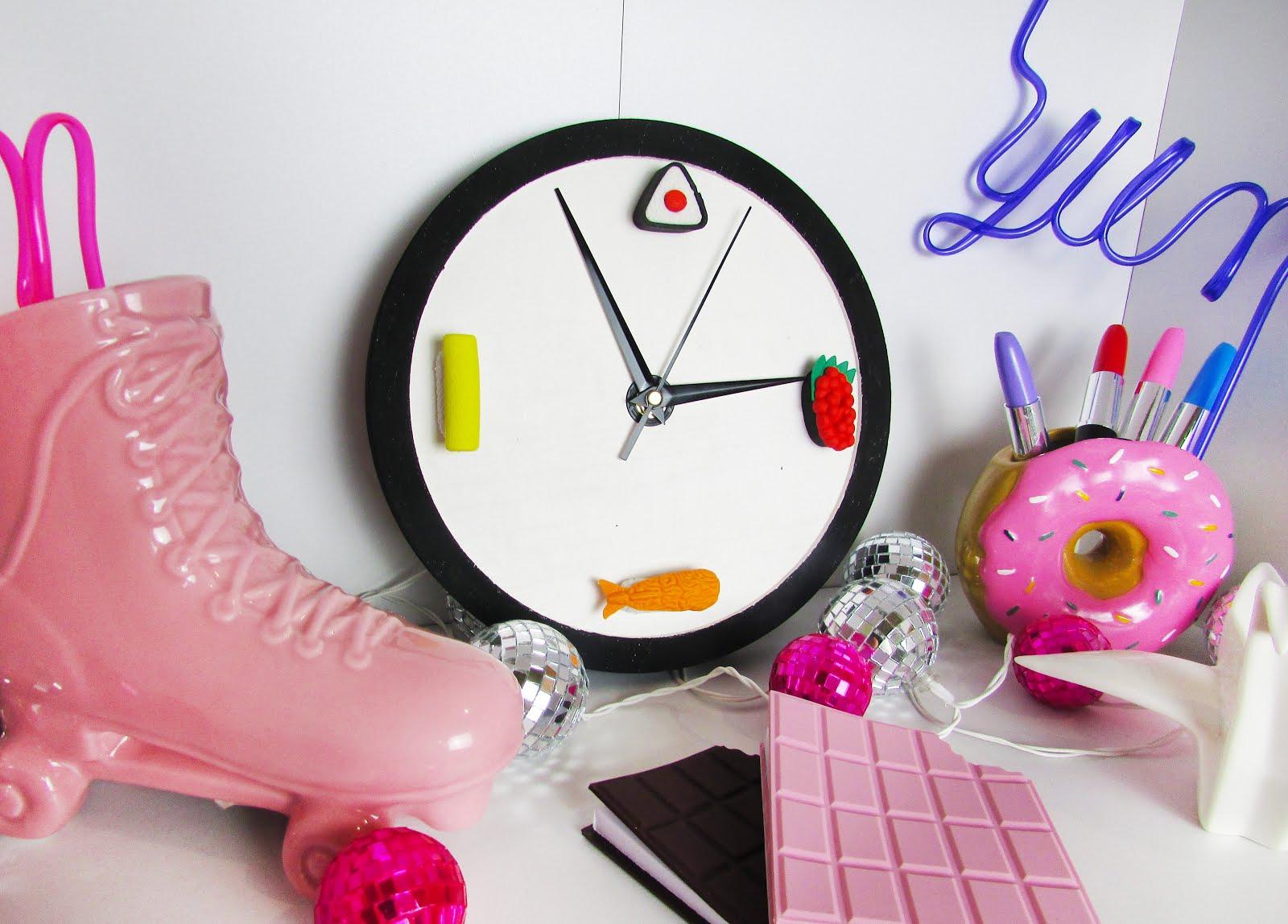 DIY Sushi Clock