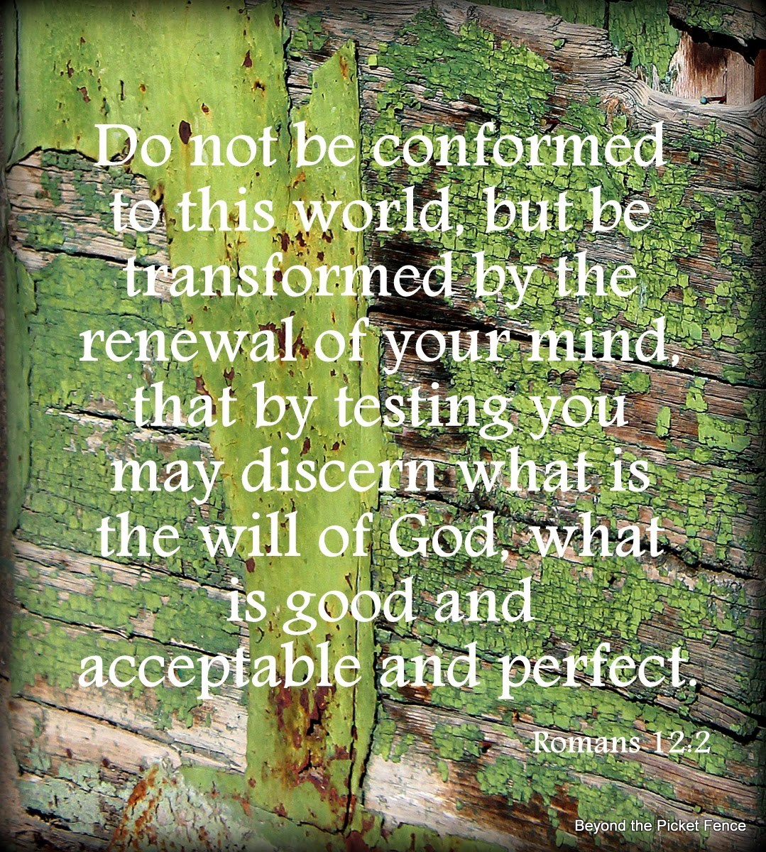 bible verse Romans 2:12 God's word renewal http://bec4-beyondthepicketfence.blogspot.com/2014/03/sunday-verses_9.html