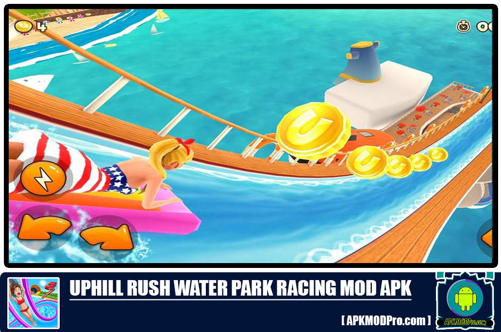 Download Uphill Rush Water MOD APK