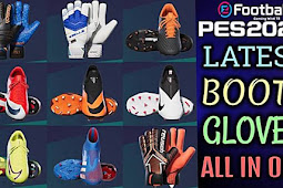 New Boots & Gloves Pack 2020 - PES 2020