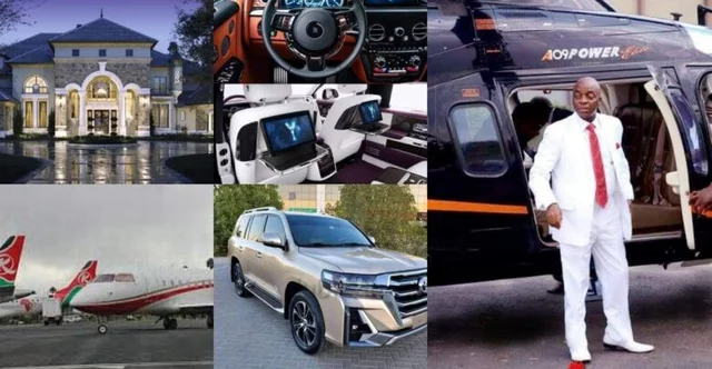 Meet the richest Pastor on earth with four expensive jets, hundreds of cars and multi-billion mansions