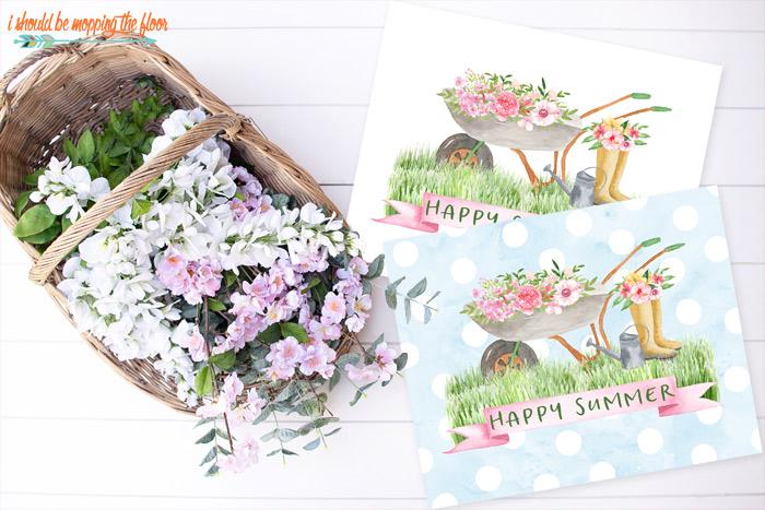 Summer Floral Printable