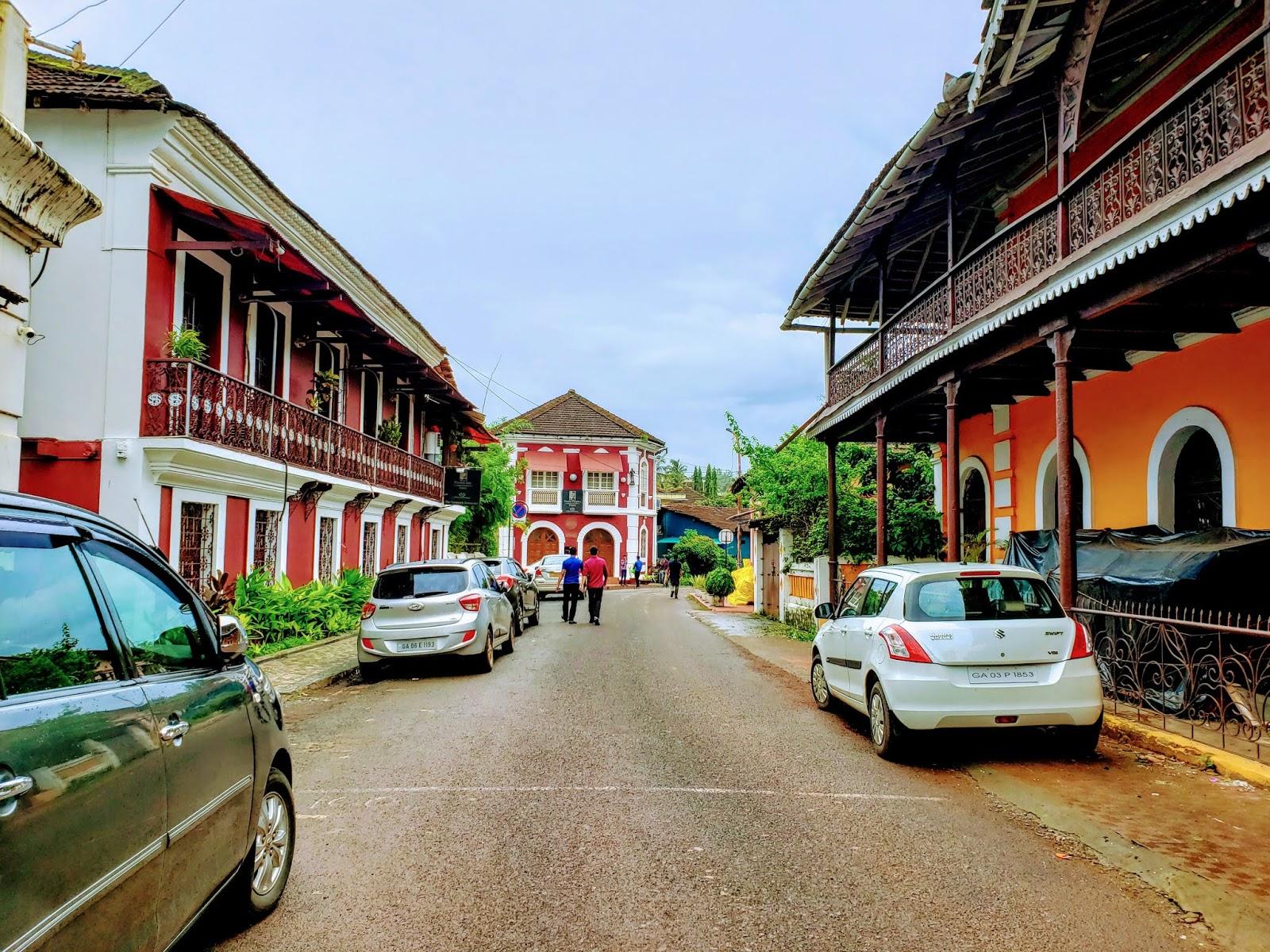 Rua De Natal, Fontainhas, Goa