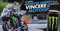 Logo Compra Monster Energy e vinci uno dei 4 Gran Premi Moto GP